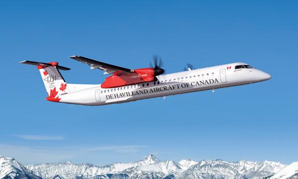 De Havilland Canada confirme la suspension de la production du Dash 8