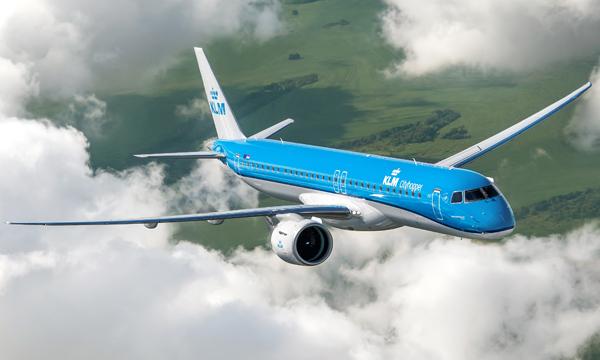 KLM reçoit son premier Embraer E2