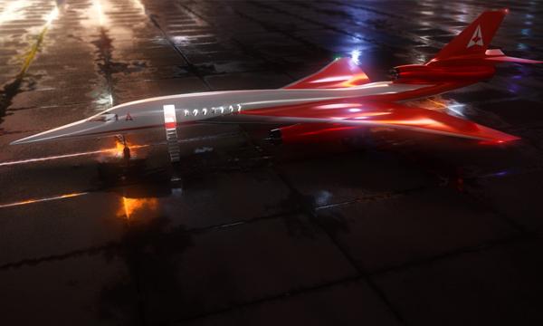 NetJets rêve aussi d'avions supersoniques