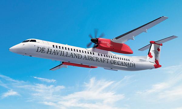 L'EASA approuve la configuration à 90 sièges du Dash 8-400