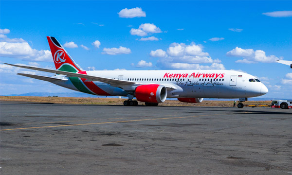 Kenya Airways s'enfonce dans le rouge