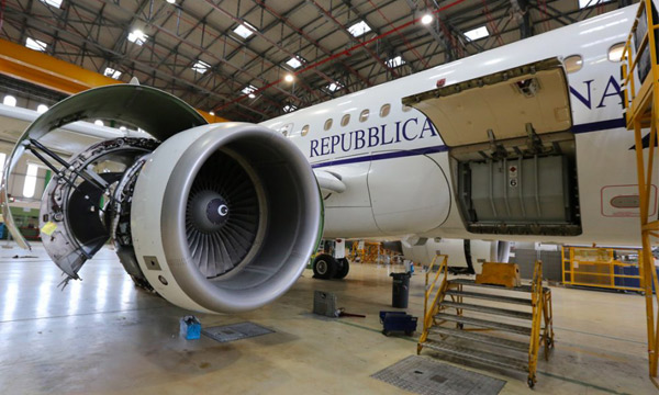 Italian government A319CJs remains with Atitech