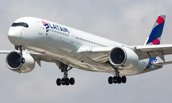 LATAM retire tous ses Airbus A350