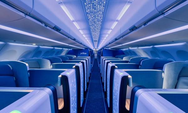 Avec son premier A321LR, JetBlue lance la cabine Airspace sur les monocouloirs Airbus