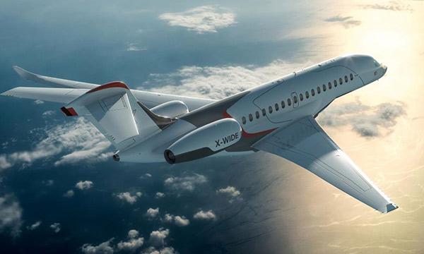 Avec son Falcon 10X, Dassault veut redevenir la référence mondiale dans l'aviation d'affaires