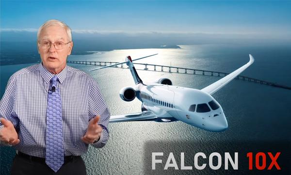 Le Falcon 10X en détail avec le journaliste américain Fred George