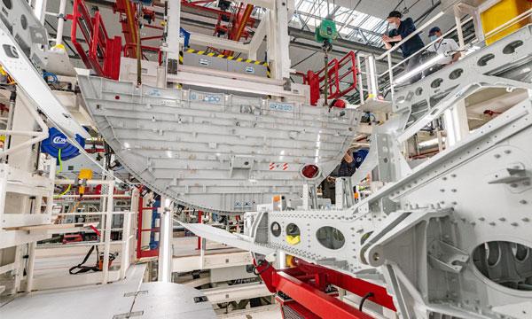 Airbus lance l'assemblage du premier A321XLR