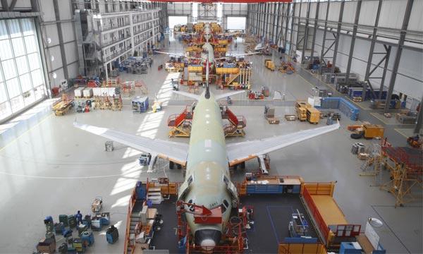 Airbus envisage de produire 70 A320 par mois à partir de 2024
