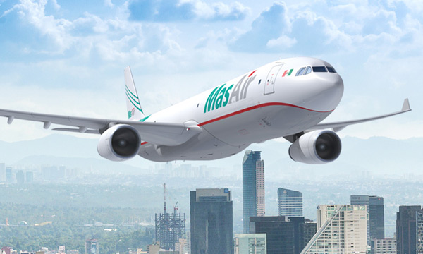 CDB Aviation will lease two Airbus A330P2Fs to Mexico-based MasAir