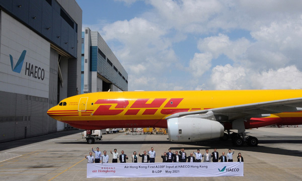 HAECO Hong Kong has completed its first Airbus A330F C-Check