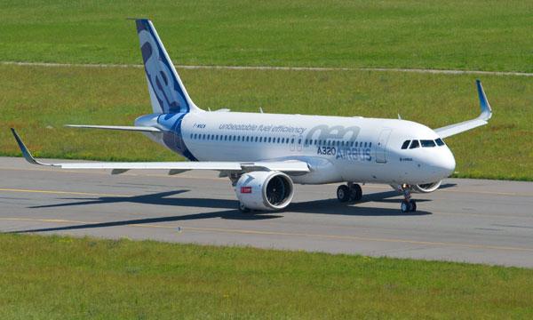 Les industriels français préparent le vol d'un Airbus A320neo alimenté à 100% par du carburant durable