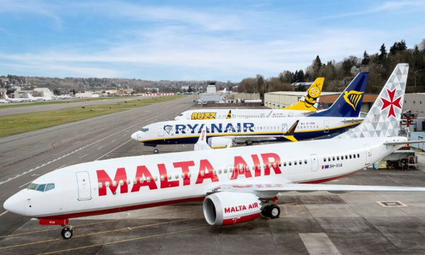 Ryanair reçoit enfin son premier Boeing 737-8200