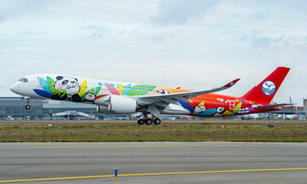 Airbus: Sichuan Airlines extends its FHS contract to all future A350s and boards Skywise