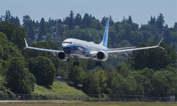 Le Boeing 737 MAX 10 prend son envol