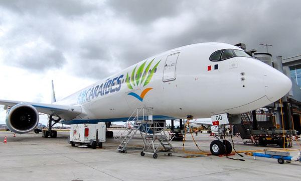 Air Caraïbes reçoit son 2e A350-1000 et se prépare à un été dynamique mais compliqué