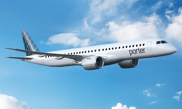 Porter Airlines commande 30 Embraer E195-E2