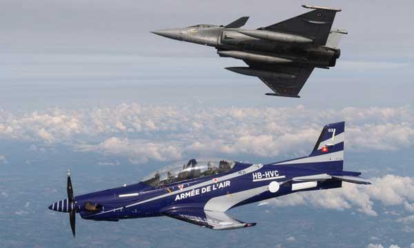 L'Armée de l'air commande neuf PC-21 de plus