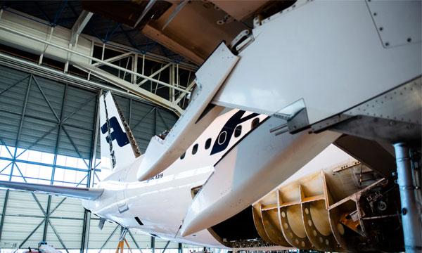Finnair parvient à recycler 99,2% d'un Airbus A319
