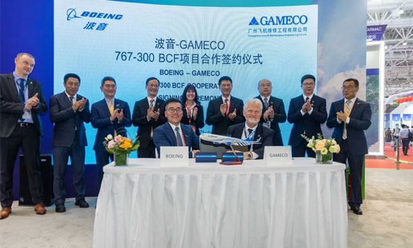 Boeing to add 767-300BCF conversion lines at GAMECO in 2022