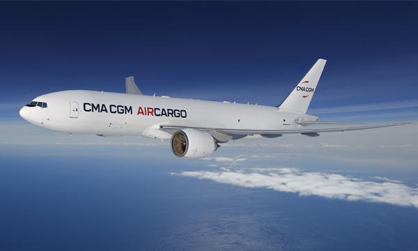 CMA CGM commande deux Boeing  777F pour développer ses capacités dans le fret aérien