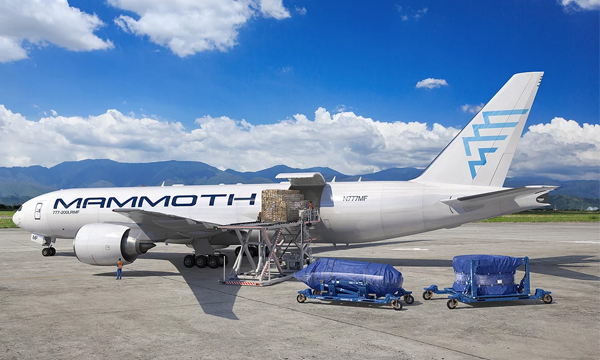 Mammoth Freighters selects Texas-based MRO GDC Technics for its B777 Cargo Conversion Program