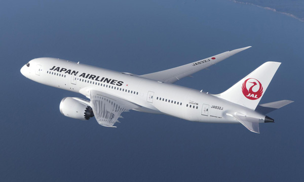 Japan Airlines extends a component support contract with Lufthansa Technik