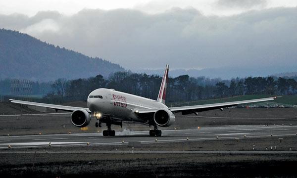En images : Swiss a réceptionné son premier Boeing 777-300ER