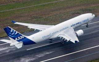 L'Airbus A330-200F certifié à 70 tonnes de charge utile