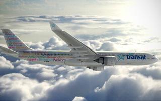 Air Transat modifie sa livrée