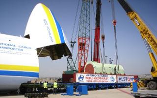 Photo : nouveau record de charge pour l'Antonov 225