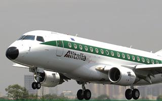 Alitalia finalise son contrat avec Embraer